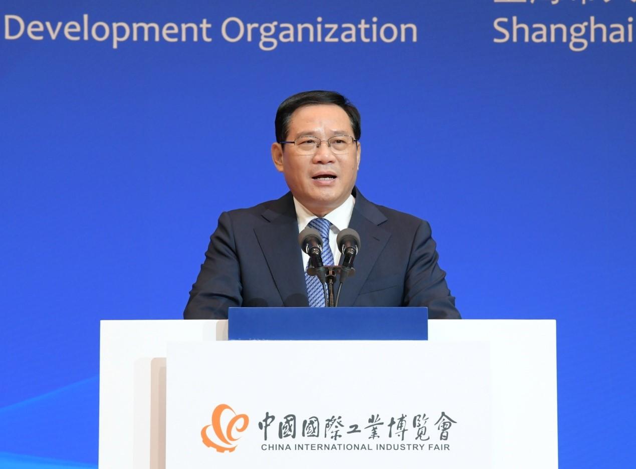 第二十一届中国国际工业博览会今日盛大开幕