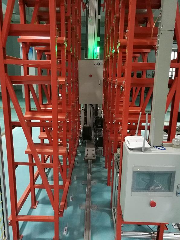 30KG单立柱伺服轻型巷道机立体仓库堆垛机万博苹果网页版登陆轨道搬运车3米高