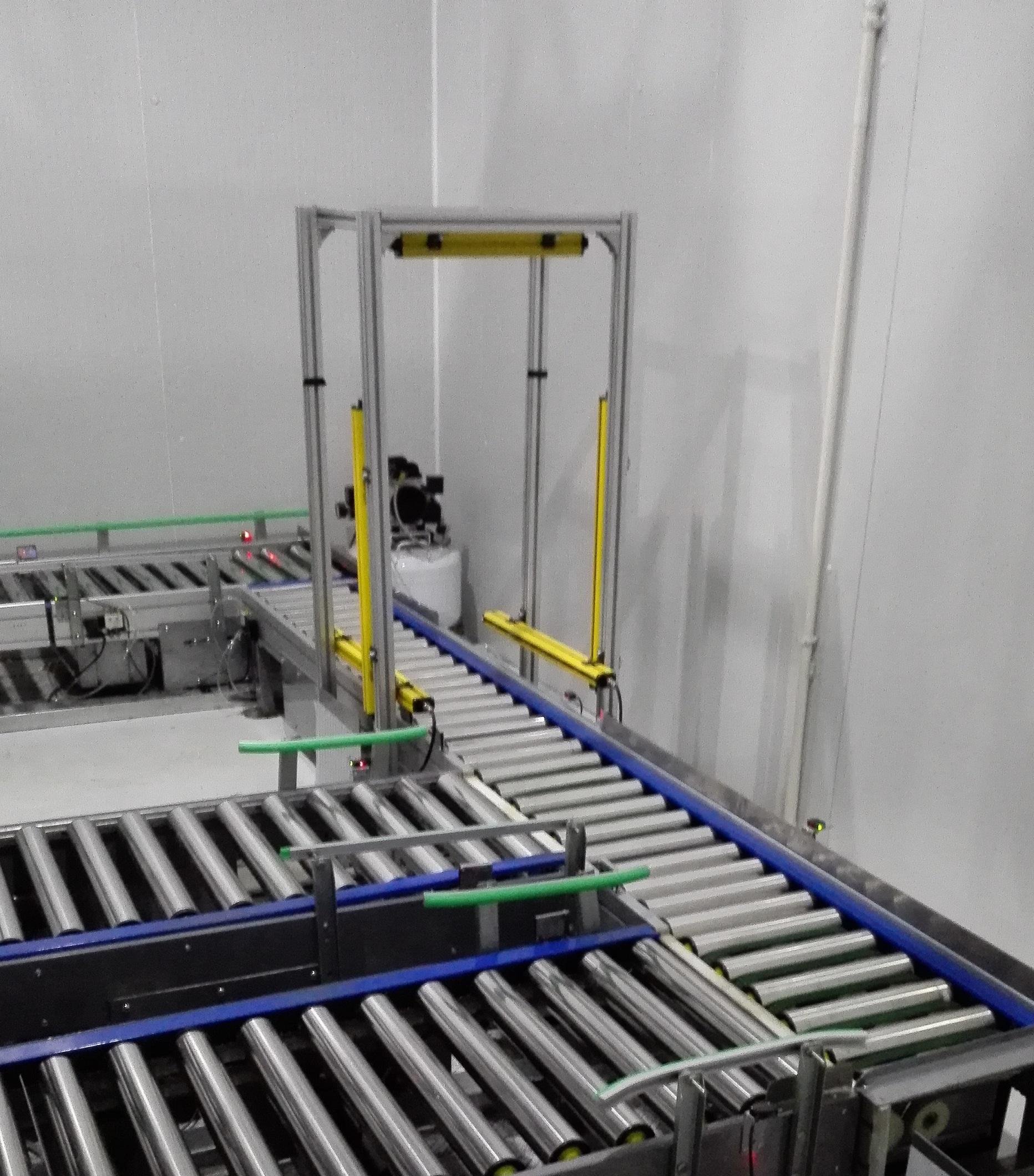 光栅体积测量系统在线监测货物尺寸装置