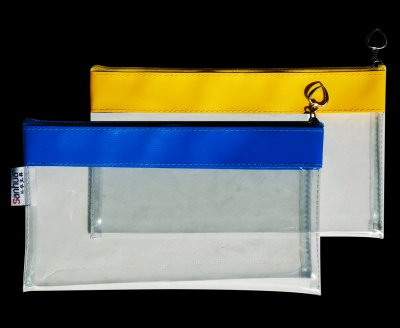 透明PVC拉链袋