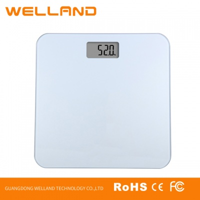 Digital Body Weight Bathroom Scale 180Kg/440Lb BG830 Transparent glass