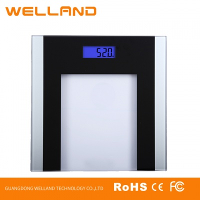 Digital Body Weight Bathroom Scale 180Kg/440Lb BG530 Transparent glass