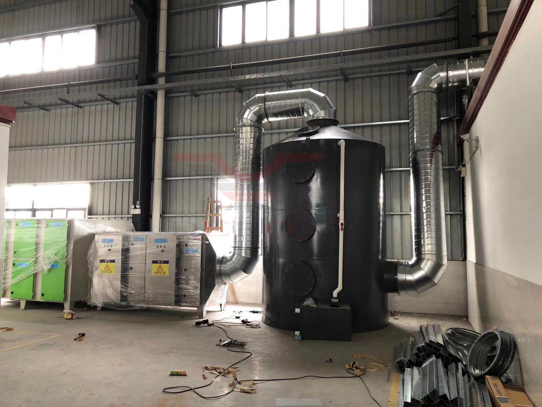 【废气处理技术】VOCs废气处理净化系统五个组成部分