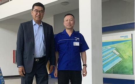 向全球化智能化挺进-联想集团副总裁刘文超一行到访森麒麟