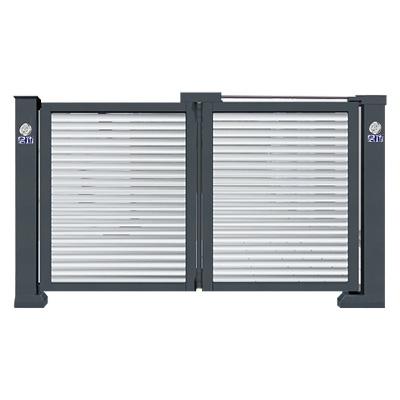 悬浮折叠门(单开百叶型)QG-P2950