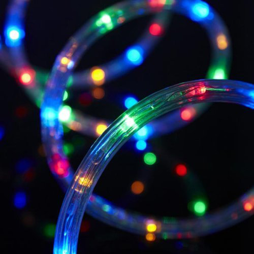 1/2inch, 13MM 110V~120V RGB LED Rope Light,with Garden Kitchen Wedding Party Decoration (RGB)