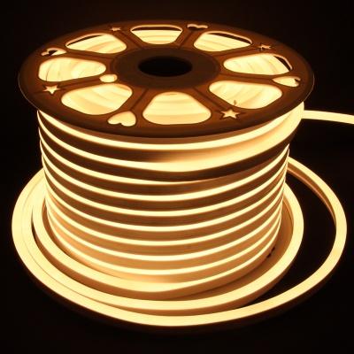 15x25mm 165ft  LED neon light Waterproof, 110V~120V 2835 Lights, Power Plug, Flexible,   Warm White)