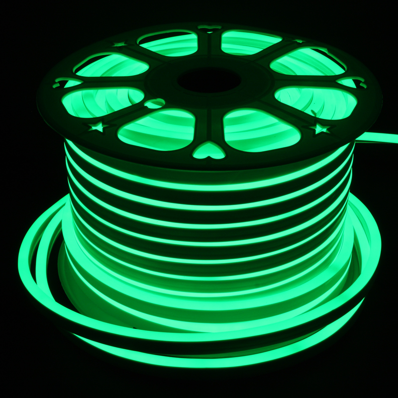 Neon Led 360° Type AC 110-120V Light Strip, Flexible/Waterproof/Dimmable