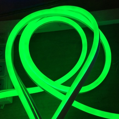 120V Neon Rope  Lights, 2835 120LEDs/M,  Accessories Included, 65ft ,165ft Green