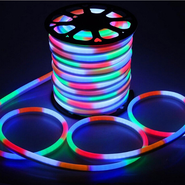 15x25mm  LED neon light Waterproof, 5050 RGB LED Neon Rope Light