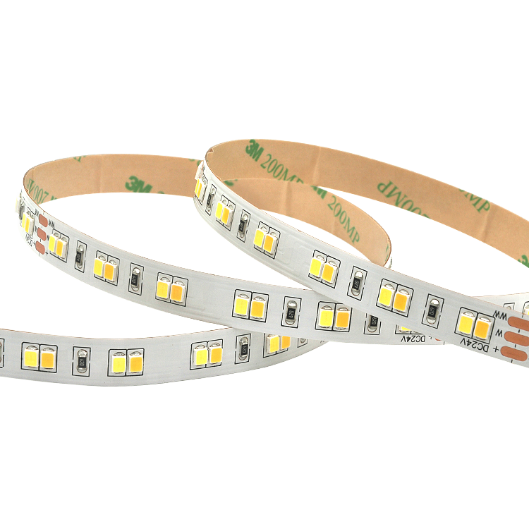 CCT Adjustable 120Leds/M 2835 Led strip light
