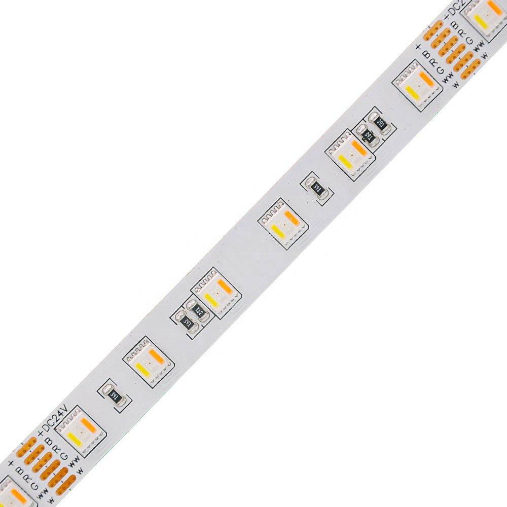 5050RGBW+WW 5 IN 1 60leds/M led strip light