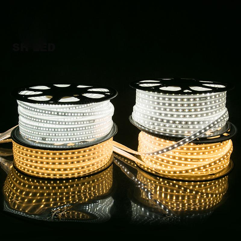 UV Warm White 110v 120v 220v 240v LED Strip 5050 2835 horizontal led strip light