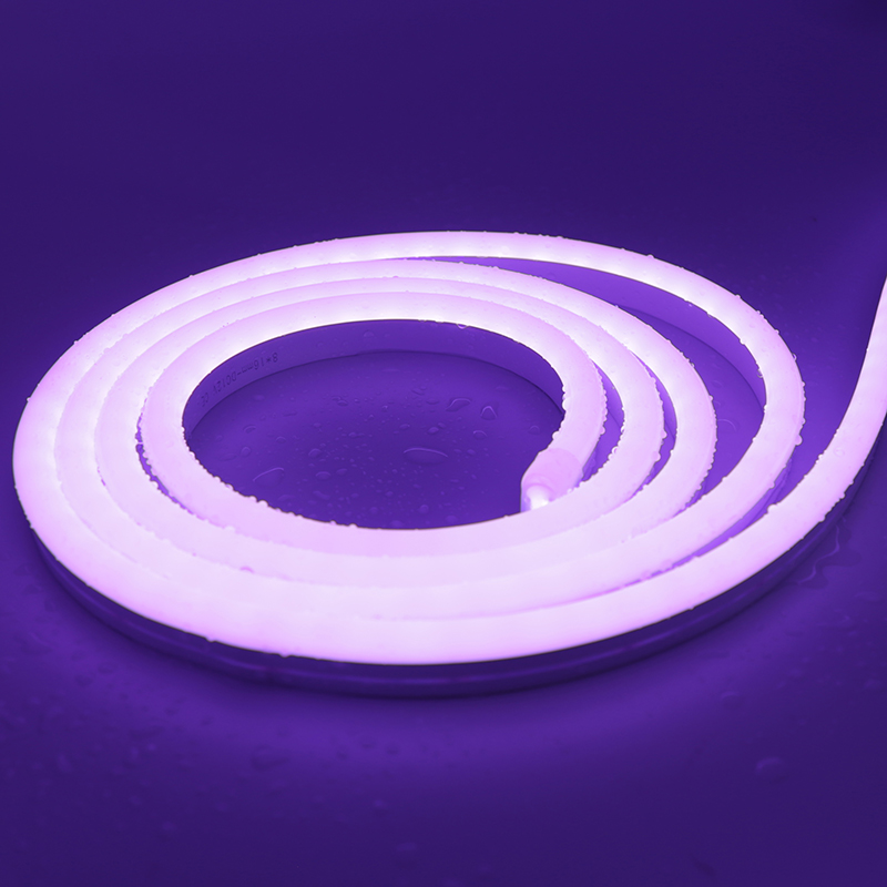 6*12mm SMD2835 Purple 12V  Silicone LED neon light
