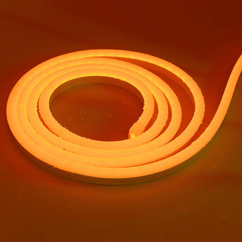 6*12mm SMD2835 Orange 12V Pure Silicone LED neon light