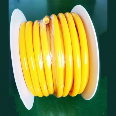 16mm Yellow 360 Degree Round LED Neon Strip Flexible Light 120Leds/M