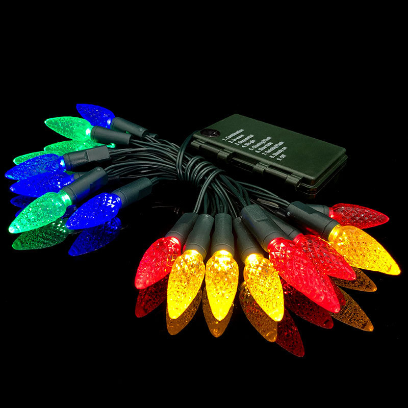 3V/120V C6 LED String Lights