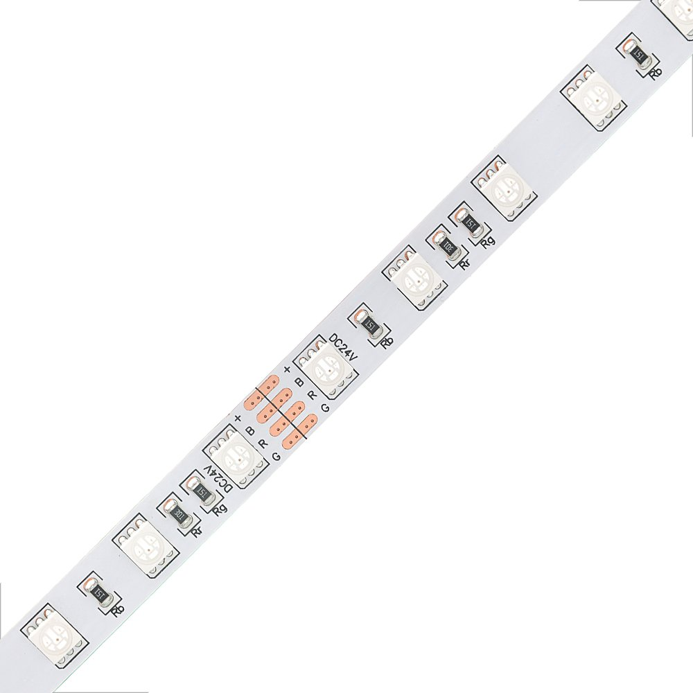 5050 RGB 60leds/M led strip light