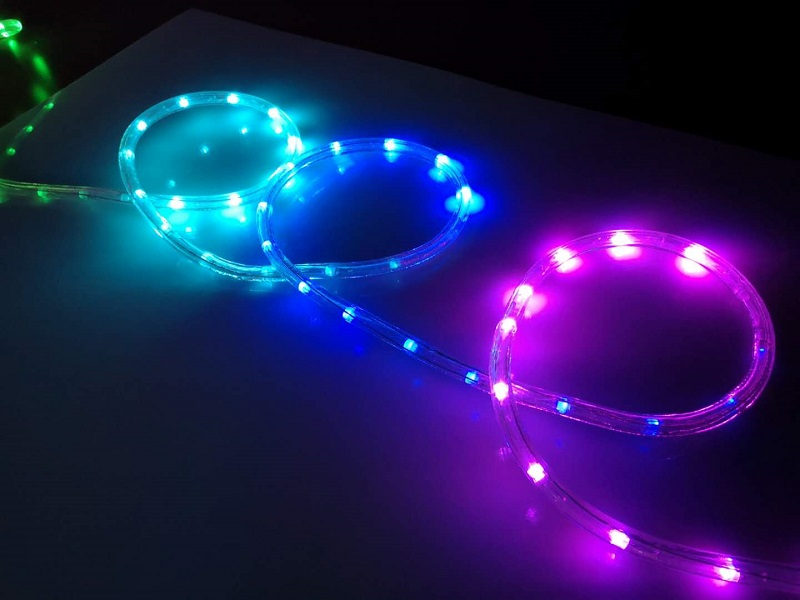 Digital Holiday LED Rope LIGHT