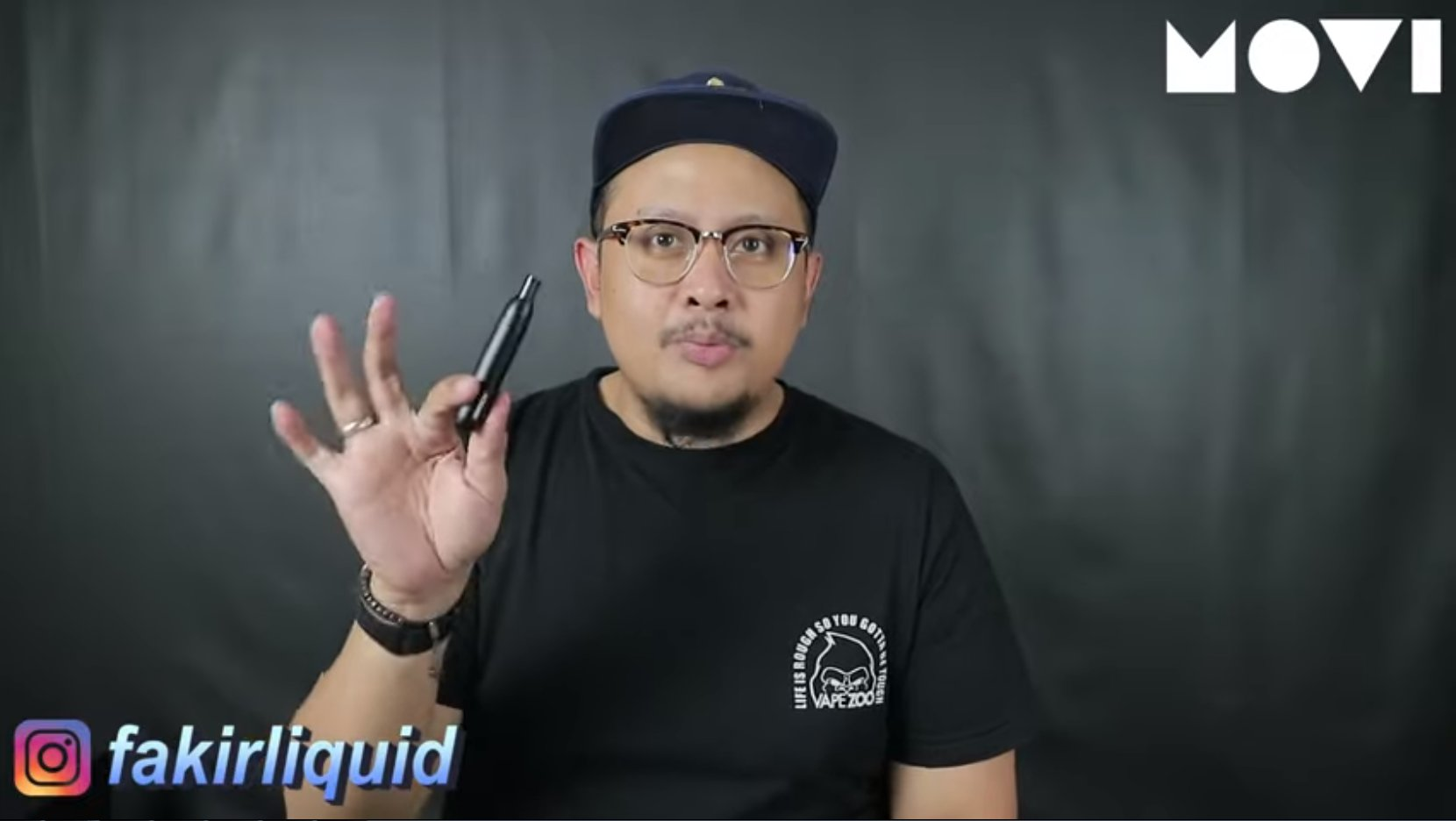 Fakir Liquid_I SWITCH by MOVI . SAATNYA BERALIH KE VAPE !!