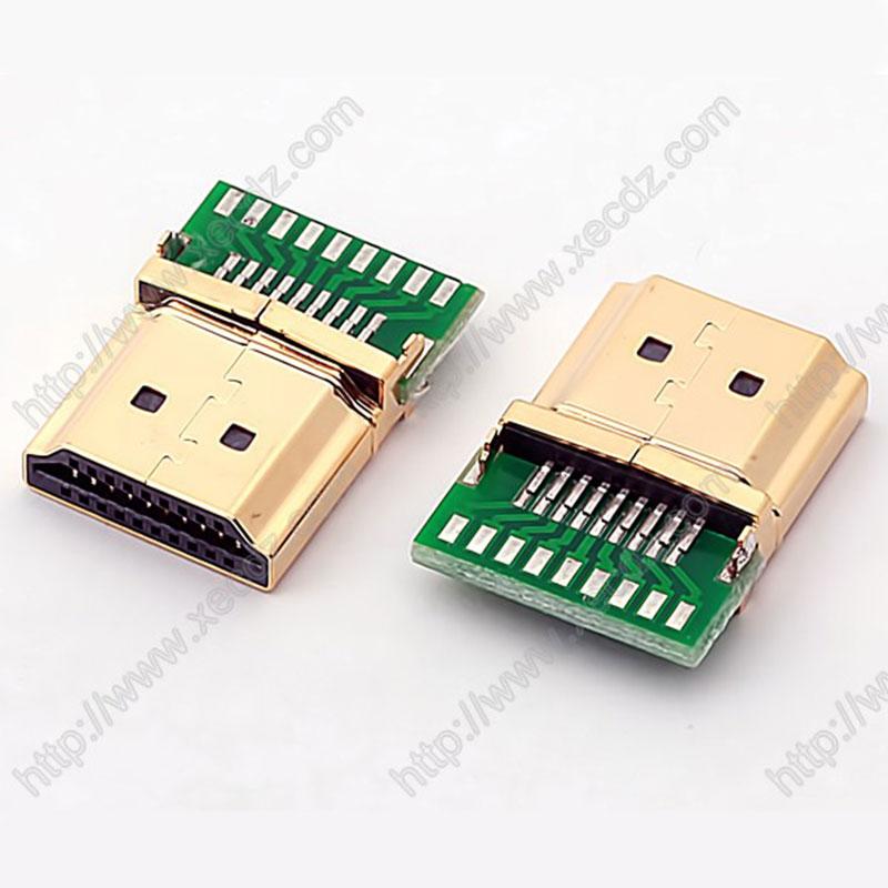 HDMI-19P-M带PCB