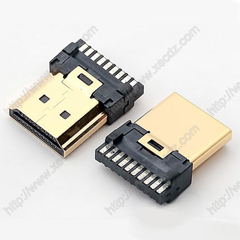 HDMI-19P-M焊线式