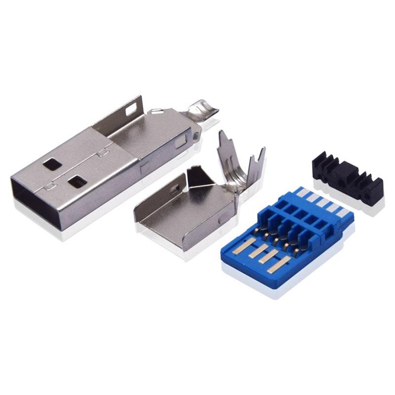 USB-3.0AM三件式