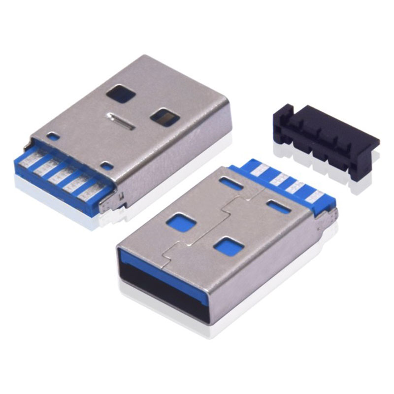 USB-3.0AM短体-注塑成型