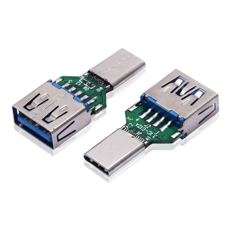 TYPE-C公头转USB-3.0母头