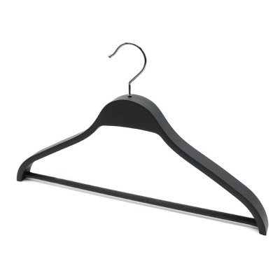 Women's clothing store wholesale abs plastic hanger wide shoulders