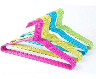 PE Hangers Coats Clothing Type and Garment Usage Heavy Duty Metal Hangers