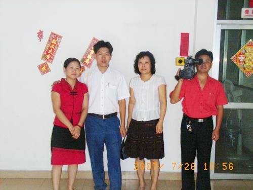 廣東電視台珠江頻道節目組來我司采訪