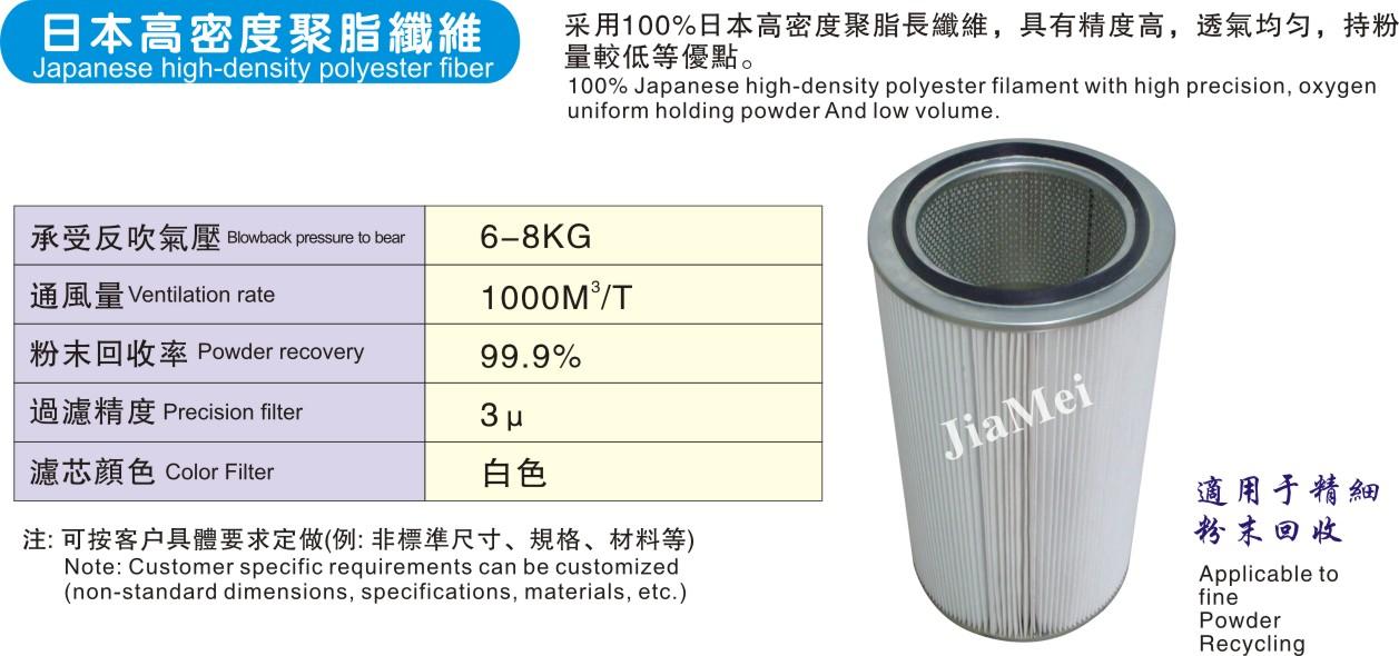 日本高密度聚脂纤维