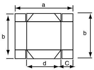 四角-自动高速糊折盒机