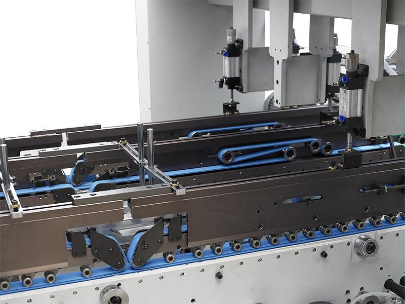 折返部-自动高速糊折盒机