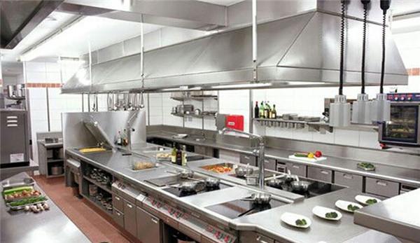 商用廚房設備設計的基本原則