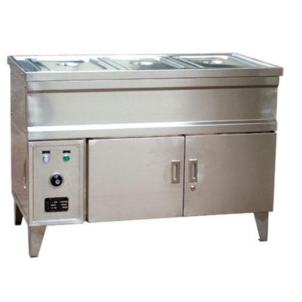 电热三格保温台柜