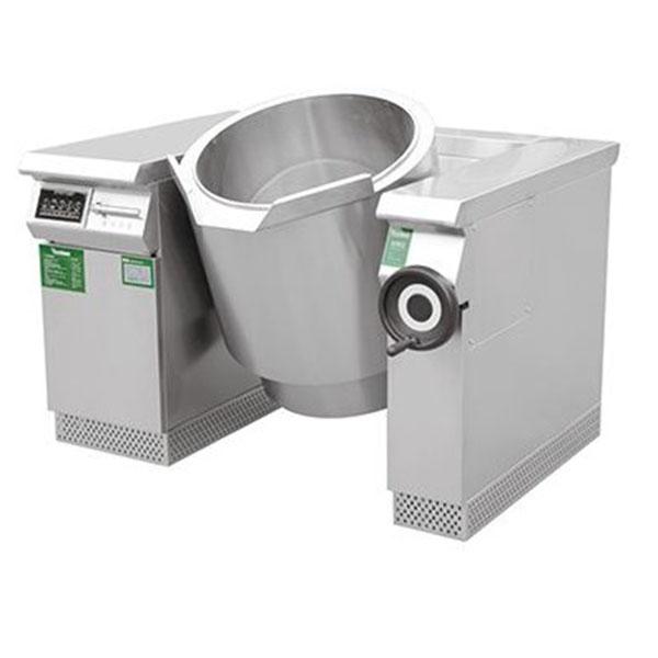 电磁可倾式汤锅