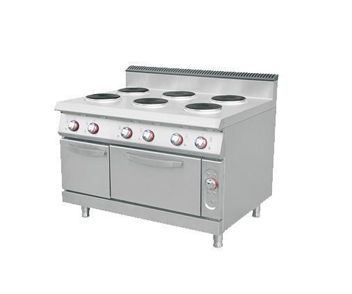 六頭電煮食爐連焗爐