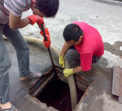 城市污水井清理