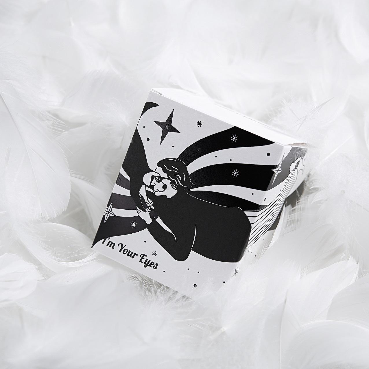 黑白艺术经典款 I AM YOUR EYES 系列香氛蜡烛