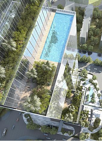 深圳东关科创大厦——梅林首座垂直城市森林办公大厦