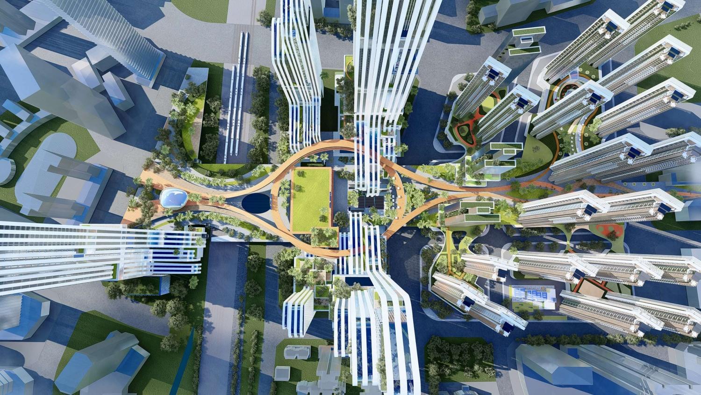 平湖枢纽城市设计项目