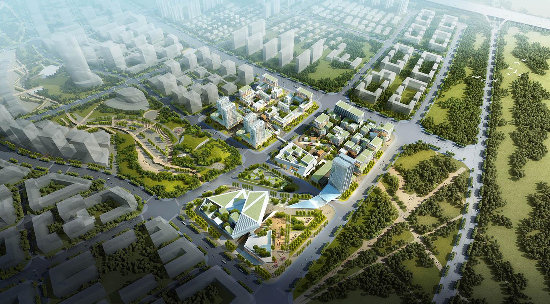 2019-0422-2哈尔滨(深圳)产业合作园区核心区详细城市设计及启动项目科创总部建筑设计c01-