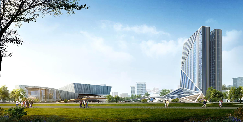 2019-0422-2哈尔滨(深圳)产业合作园区核心区详细城市设计及启动项目科创总部建筑设计加图c0