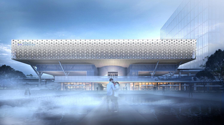 启迪协信科技园18栋B座外立面改造项目