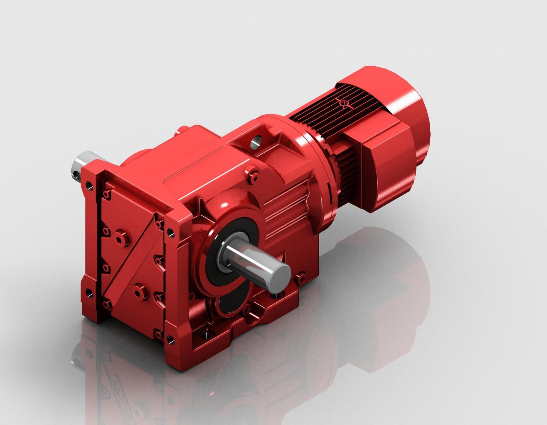 K係列底腳安裝雙輸出軸伸式安裝