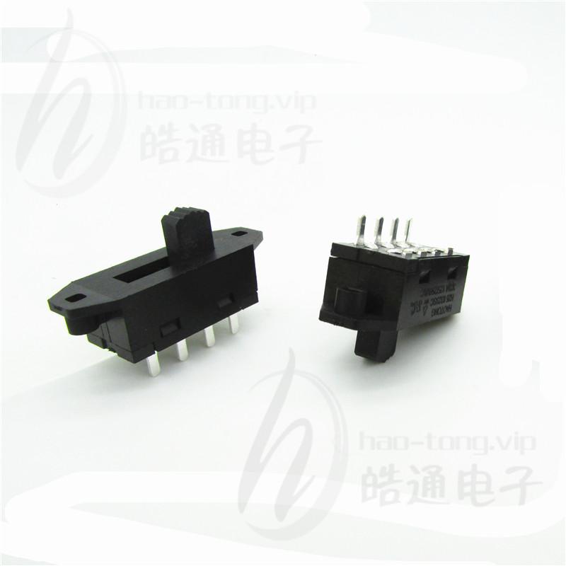 皓通haotongUL认证有耳单极3位3档4针脚H25-0313PC波段选择开关
