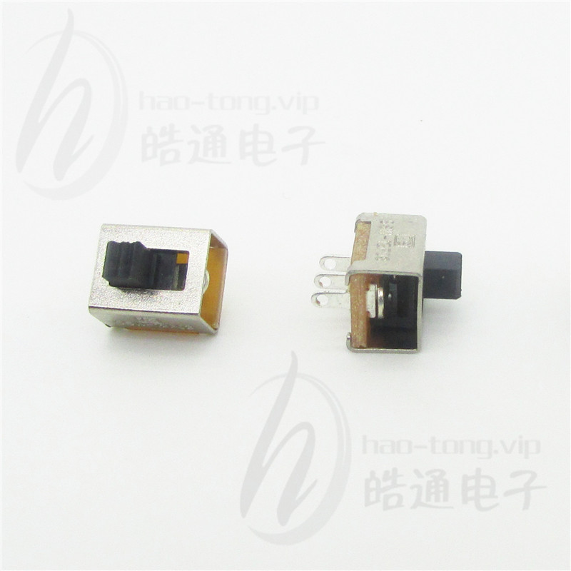 档位选择单极2位三孔脚SS-12E05直发器拨动开关