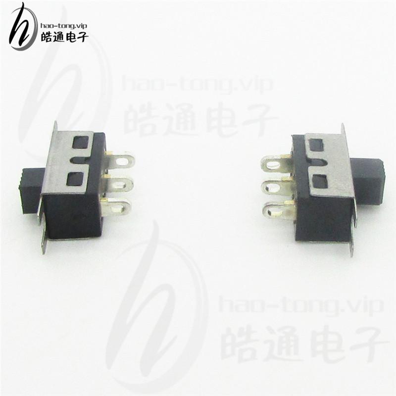 皓通haotong推荐单极两位3脚二档SS12D10背光源电源切换拨动开关